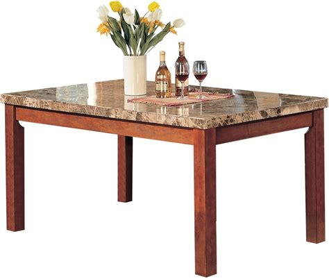 acme furniture dining room bologna dining table