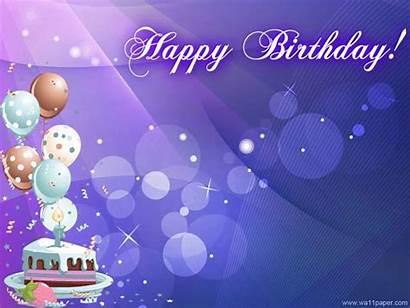 Birthday Happy Cake Digital Balloon Abyss Background