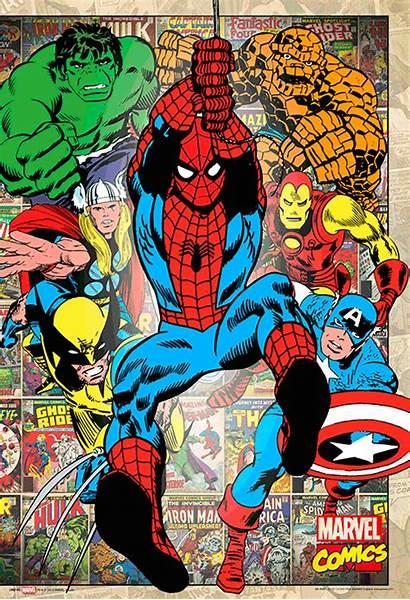 Marvel 3d Posters Comics Comic Poster Classic