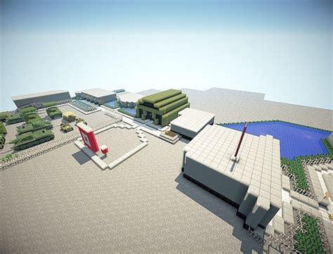 Minecraft Military Base Minecraft Project