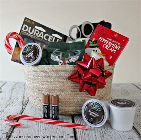 christmas survival gift basket