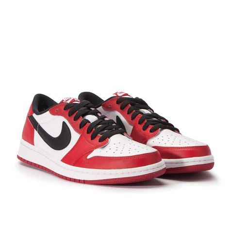 Nike Air Jordan 1 Retro Low Og Varsity Red Black