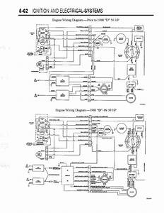 1992 Force 50hp Wiring Diagram Page  1