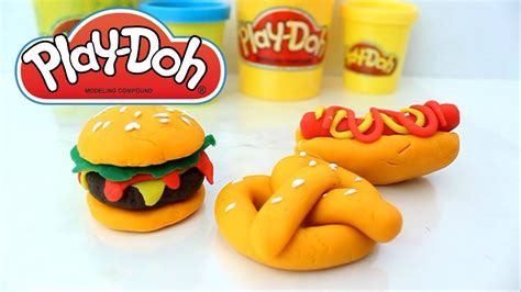 play doh cuisine how to fast food with play doh for your