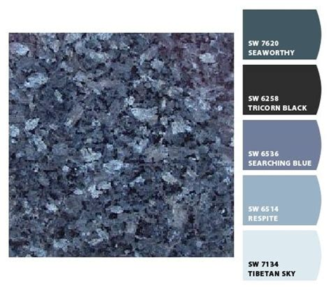 another view of blue pearl granite kitchen ideas