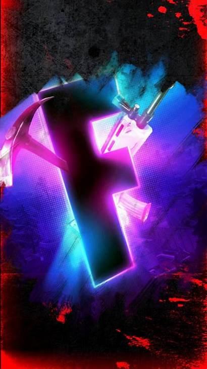 Fortnite Wallpapers Neon Cool Gaming 4k Scar