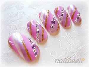 Purple Nail Designs nailbees