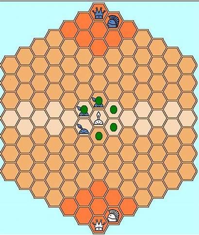 Heroes Hexagonal Chess Version Guard Backward Hero