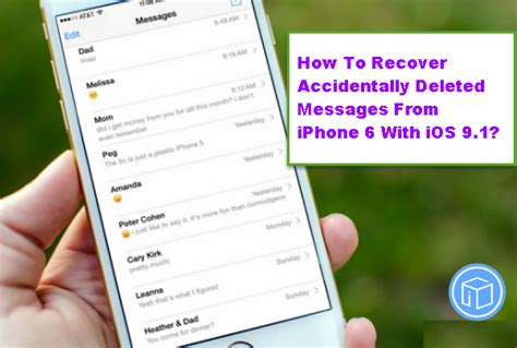 how to retrieve deleted emails on iphone recover deleted messages from iphone 6 with ios 9 1