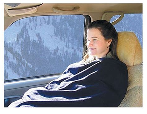Trillium Worldwide Car Cozy 2 12-volt Heated Travel Blanket (navy Sherpa Blanket Definition Smith And Johnson Dry Goods Blankets Mexican Sweatshirt Simple Knitting Patterns For Baby Waterproof Insulation Knitted Free Comfy With Sleeves Crocheted Edge Fleece