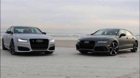 Audi S8 Plus Vs Audi Rs7 Performance