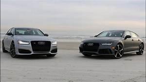 Audi S8 2017 : audi s8 plus vs audi rs7 performance youtube ~ Medecine-chirurgie-esthetiques.com Avis de Voitures