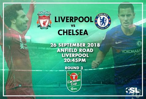 Carabao Cup Starting XI: Liverpool vs Chelsea