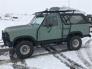 Ford Bronco roof rack. (With images)   Ford bronco, Bronco truck, Roof rack