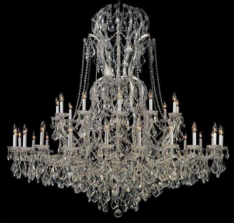 large chandeliers for big luxurious spaces