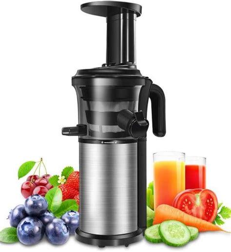juicer masticating cold press vertical portable slow function machine reversal juicers blender fruits vegetables blenders reverse warrantee bpa jug juice