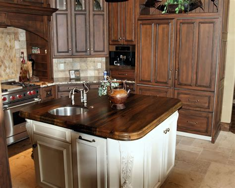 countertops for kitchen islands spalted pecan wood countertop photo gallery by devos