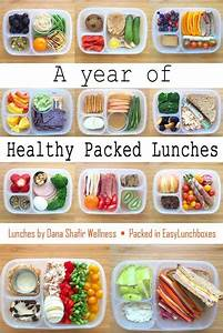 A Year of Healthy Packed Lunches in @EasyLunchboxes | Easy ...