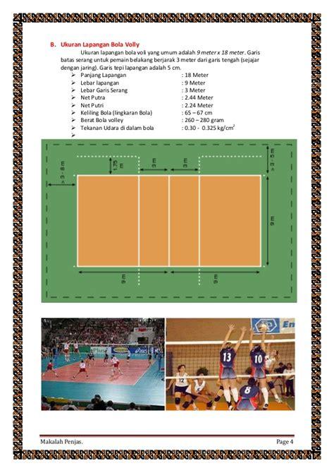 Makalah Tentang Sepak Bola Basket Dan Volly - Contoh Makalah