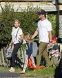 Chris Hemsworth and Elsa Pataky collect their kids from ...