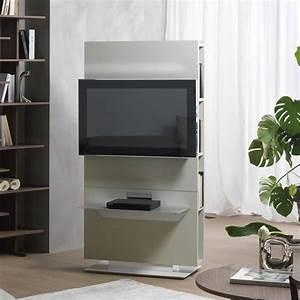 Porta tv girevole con libreria Lounge ARREDACLICK