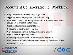 Document management system for Document collaboration app