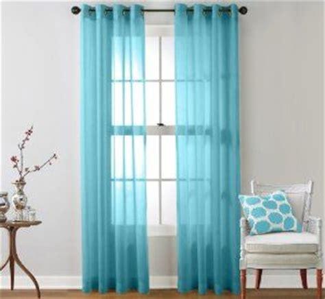 amazon com hlc me 2 piece sheer curtain grommet panels