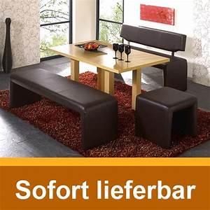 Sitzbank Mit Lehne Schwarz : bank ibiza mit lehne schwarz 140cm kunstleder sitzbank ebay ~ Bigdaddyawards.com Haus und Dekorationen
