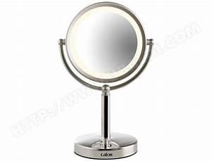 Miroir Rond Lumineux : miroir lumineux maquillage ~ Zukunftsfamilie.com Idées de Décoration