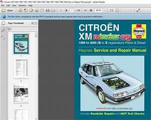 Citroen Xm 1989 1990 1991 1992 1993 1994 1995 1996 1997