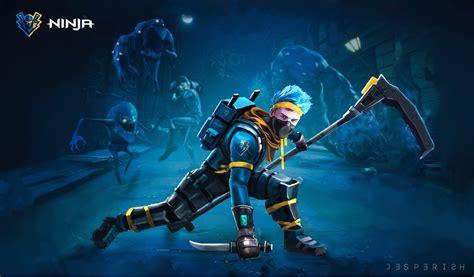 ninja shows      fortnite player