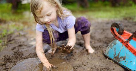 Happy Kids Are Muddy Kids