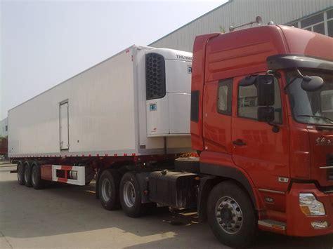 Truck Refrigerator by China 3 Axles Semi Trailer Refrigerator Truck Zz4257m3247