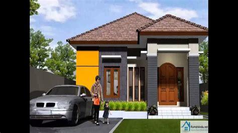 trend model rumah minimalis pintu samping youtube