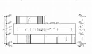 VILLA SAVOYE Cad Drawings- LE CORBUSIER Free Cad Blocks
