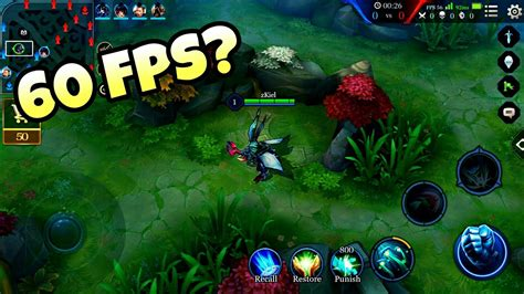 High Frame Rate Mobile Legends Iphone 6