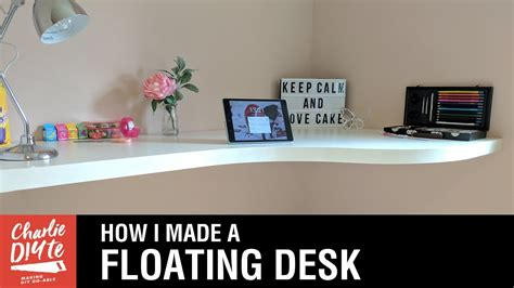 how to make a floating desk how to make a floating desk youtube