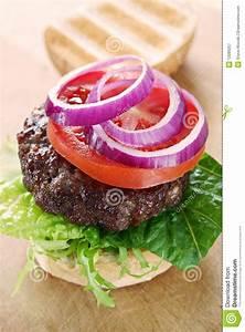 Fresh Beef Burger Royalty-Free Stock Photo | CartoonDealer ...