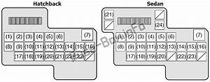 Fuse Box Diagram  U0026gt  Suzuki Sx4  2006