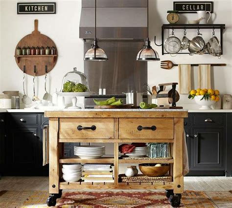 kitchen islands pottery barn a kitchen that 39 s on a roll kitchens