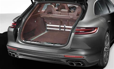 2018 porsche panamera turbo in carrara white metallic over bordeaux red leather interior. Porsche Panamera Sport Turismo 2018 Interior Image Gallery, Pictures, Photos