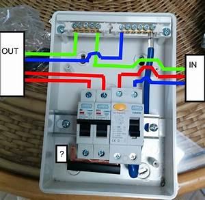 Unique Wiring Diagram For A Garage Consumer Unit  Diagram