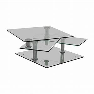85 off z gallerie z gallerie movable glass coffee table With movable coffee table