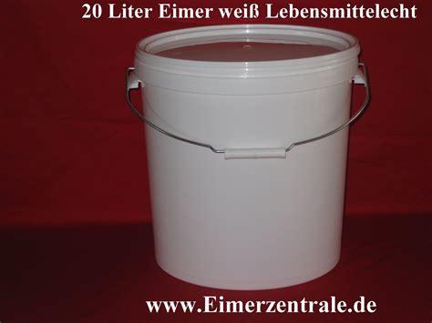 20 liter eimer 20 liter eimer mit deckel 20 liter eimer rund wei 223 leereimer