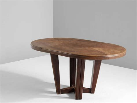 oval dining tables for small oval dining table in solid oak for at 1stdibs 7250