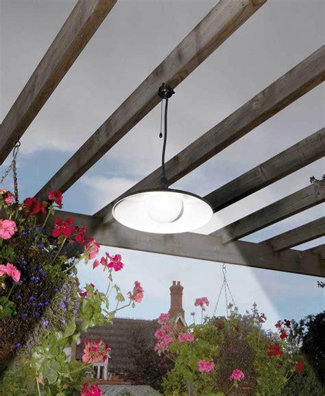vintage solar powered rechargeable led garage shed light