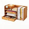 B06-L Desktop Wooden Storage Box Multi-layer Storage Racks ...