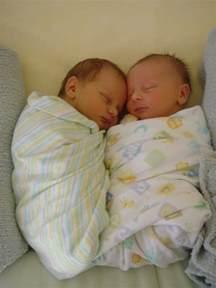 Hospital Newborn Twins Boy and Girl