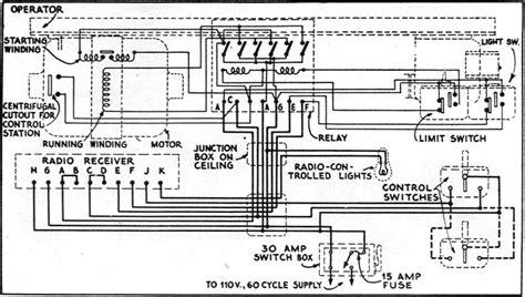 garage door opener wiring diagram fuse box and wiring