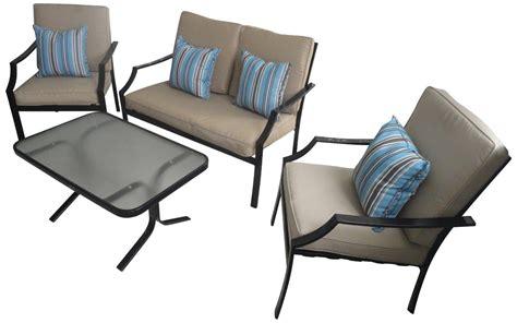 specials budget furniture 4 all strathwood brentwood 4 all weather furniture set